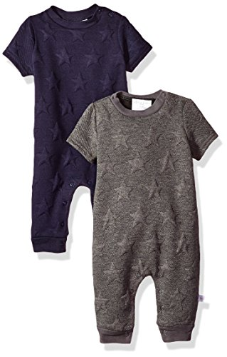 Product Image of the Rosie Pope Baby Boys 2 Pack Romper, Stars, 0-3 Months