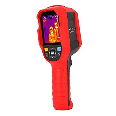 Thermal Imager, UNI-T Infrared Thermal Imaging Camera 30? - 45? Infrared Thermometer High Precision Temperature Tester - PC Software Analysis Type-C USB Interface - Real-time Image Transmission
