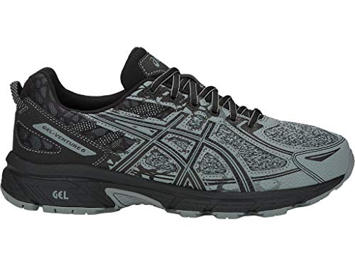 ASICS Men's Gel-Venture 6 MX Running Shoes, 8.5M, Stone Grey/Stone Grey