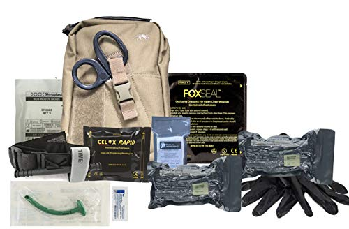Tasmanian Tiger Base Sanitäterbeutel MK2 Trauma-Erste-Hilfe-Set (IFAK) (Coyote)