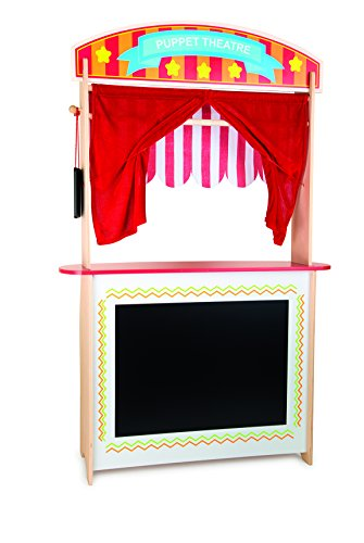 Small Foot 10328 Fox Market Stall and Puppet Theatre