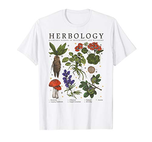 Harry Potter Herbology Plants T-Shirt