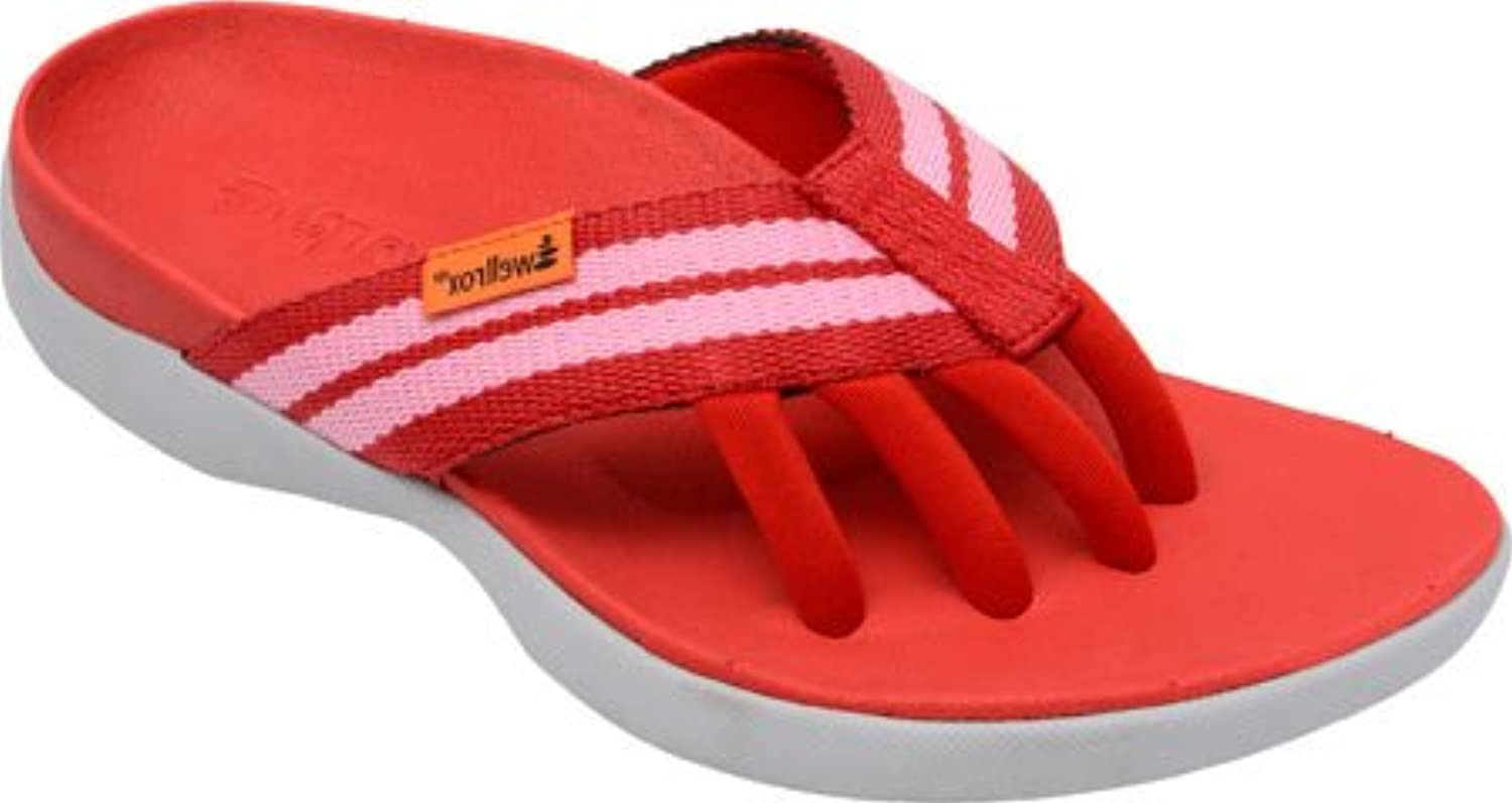 Wellrox Women's Evo-Casey Vegan Wellness Casual Sandals