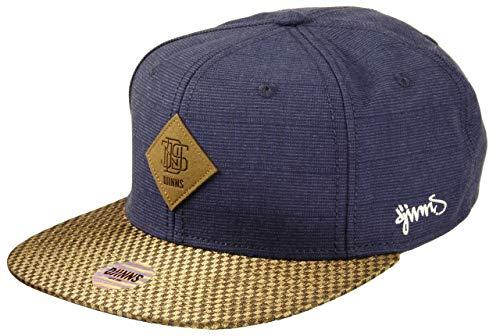 Djinns Casquette 6P Glencheck Strapback strapback cap casquette (taille unique - bleu)