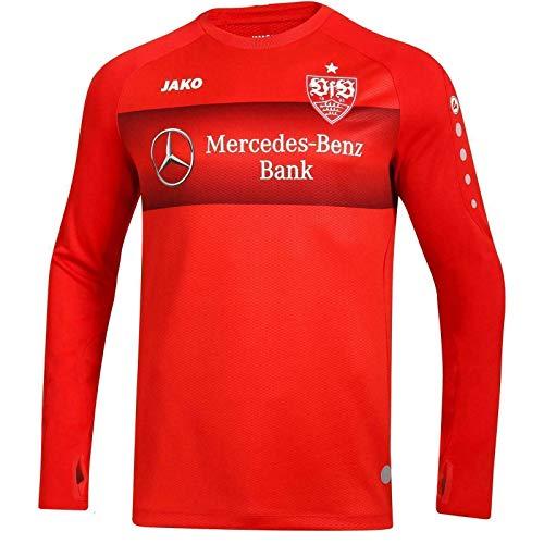 JAKO VfB Stuttgart Teamline Einlauf Sweatshirt Sweater (L, rot)