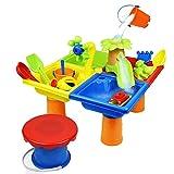 MSHK Sand- Und Wasser Spieltisch Wasserfall Und Sandfall Quality Toys Bath World