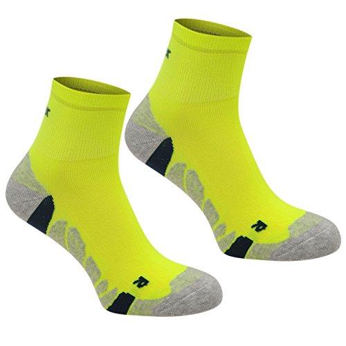 Karrimor Kinder Jungen Dri 2 Paar Laufen Socken Sportsocken Freizeitsocken Gelb Junior 1-6