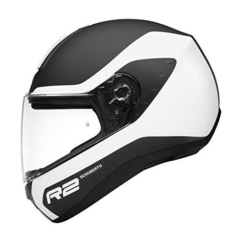 Preisvergleich Produktbild Schuberth R2 Nemesis Helm S (54 / 55) Weiß / Schwarz
