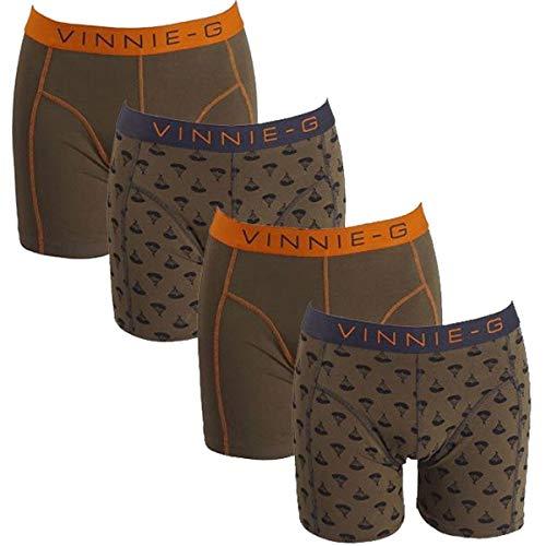 Vinnie-G Boxershorts Military Olive (4, XXL)