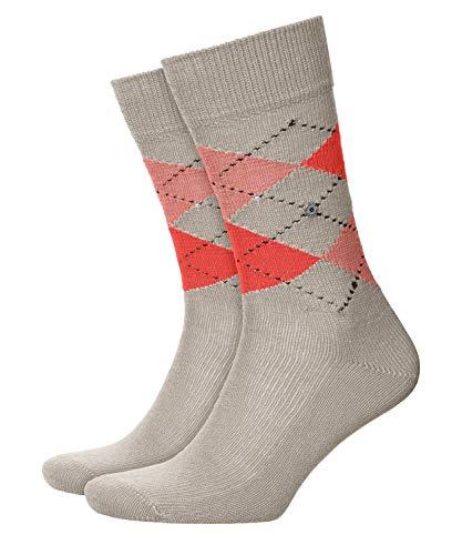 Burlington Herren Socken Preston, Polyamid, 1 Paar, Beige (Towel 4775), 40-46 (UK 6.5-11 Ι US 7.5-12)