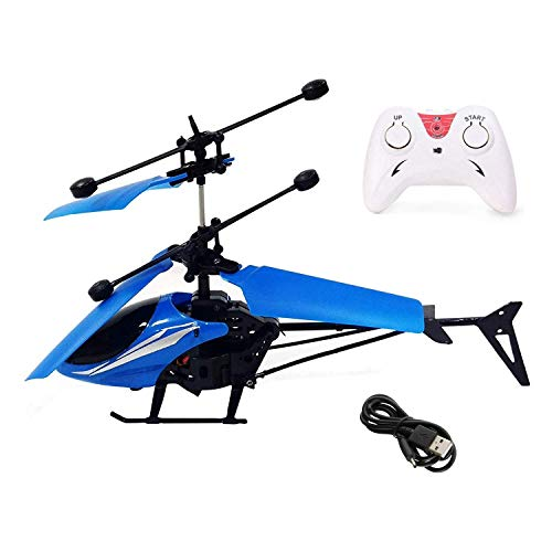 Plastic Remote Control And Hand Sensor Helicopter, Pack Of 1, Multicolour