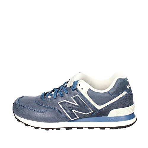 New Balance 574, Sneaker Uomo, Blu (Stone Blue), 7.5 UK EU