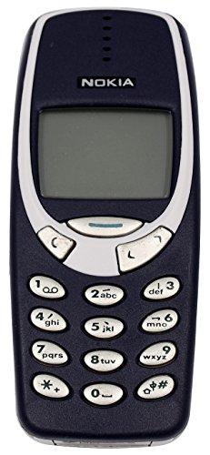Nokia 3310 Gsm Dual Band Facile Utilizzo Grazie Al Suo Unico Tasto (Ricondizionato) )
