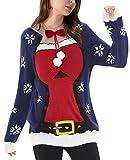 Sexy Damen Weihnachtspullover