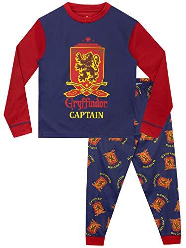 HARRY POTTER Pijama para Niños Gryffindor Multicolor 11-12 Años