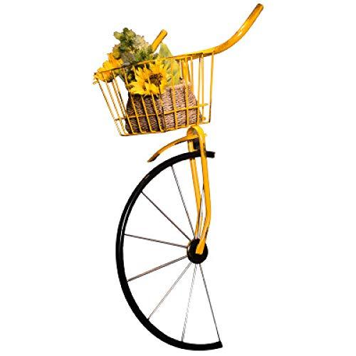 SanyaShinyGuy Oggetti Vintage da Parete Decorazione in Ferro Battuto per Biciclette Muro Arredamento da Bar Ristorante Soggiorno 41 cm x 38 cm x 80 cm
