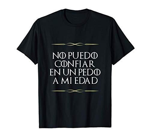 40 50 60 Gráfico de Regalo de Broma de Cumpleaños Camiseta