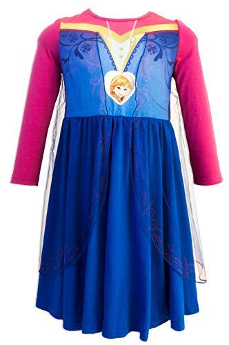 Die Eiskönigin - Frozen - Nachthemd für Mädchen - 5202HR [Violett Anna - 4 Jahre - 104 cm]