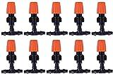 NFY 10 unids/Set Boquilla de atomización de riego por Goteo Micro, rociador de Control de Agua, Planta, riego automático, boquillas de aspersores de Manguera de jardín