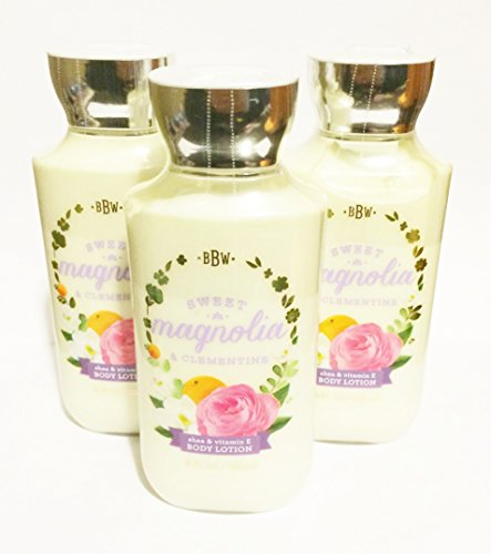 Bath & Body Works - Sweet Magnolia & Clementine Body Lotion (Pack of 3)