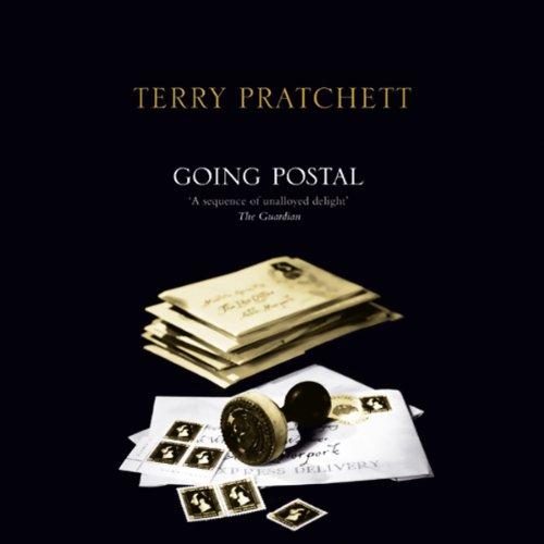 Going Postal audiobook cover art