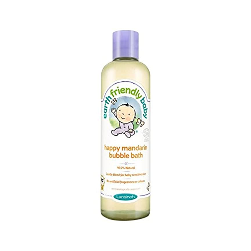 アベニュー解釈圧縮された赤ちゃん幸せなマンダリン泡風呂のエコサートの300ミリリットル (Earth Friendly) (x 6) - Earth Friendly Baby Happy Mandarin Bubble Bath ECOCERT 300ml (Pack of 6) [並行輸入品]