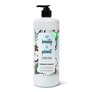 Love Beauty And Planet Volume and Bounty Thickening Conditioner Hair Thickener for Fine Hair Coconut Water and Mimosa Flower Silicone-Free Vegan Volume Hair Products 32.3 oz