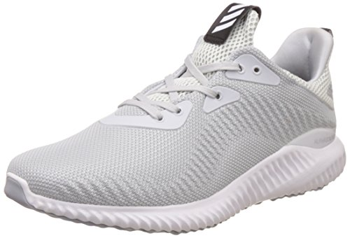 adidas Alphabounce 1M Mens Sports Trainers Running Shoes (9.5 UK, Grey)