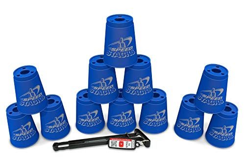 Sport Stacking with Speed Stacks Cups  Cool Blue Cup Stacking
