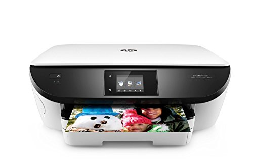 HP Envy 5661 Wireless All-in-One Inkjet Photo Printer with Mobile Printing, in White (Renewed)