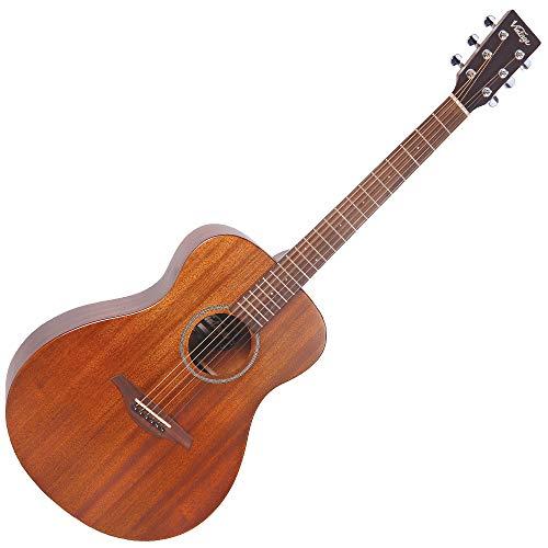Vintage V300 Akustikgitarre, Mahagoni