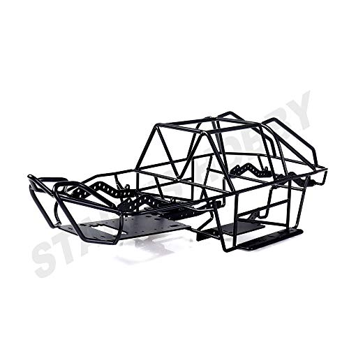 Parts & Accessories Full Tube Frame Metal Chassis Metal Body Roll Cage for 1/10 RC Crawler Truck Axial SCX10 II 90046 90047