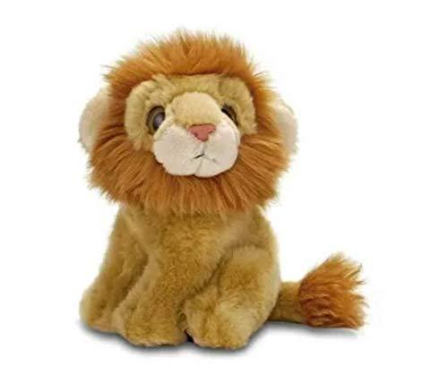 Pelúcia Leão Animal Planet 15 Cm Fun