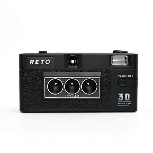 RETO3D Film Camera - Lenticular 3D Effect Boomerang Camera