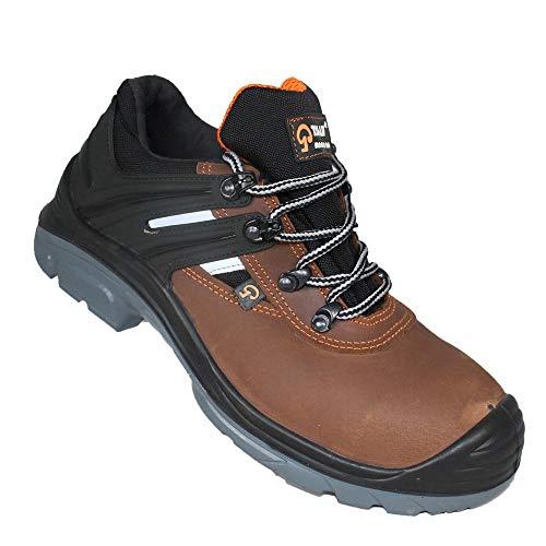 TALAN CH(br)-2C0266(g)-3-46 GALAXY 266 Niedriger Schuh, S3 SRC, Braun, Größe 46