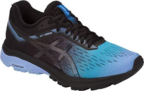 ASICS GT-1000 7 SP Women Running Shoe, Blue Bell/Black, 7.5 M US