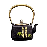 Magnifiquement conçu, adapté aux amateurs de thé, une théière artistique pour les pères, les mères, les amis, la famille, les mariages et les amateurs de thé. Capacité: 1300 ml, taille: 21x10,5x10 cm. La théière utilisée pour faire du thé et de l'eau...
