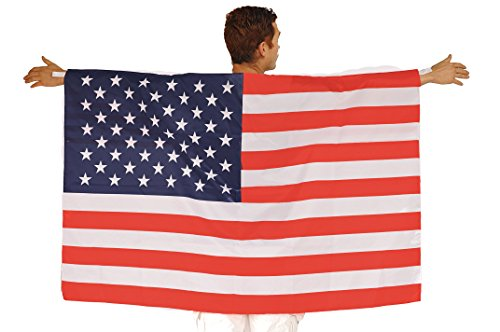 Price comparison product image Aguila American Flag Body Cape - USA Flag - USA Flag Cape - America Cape - USA Party Gear