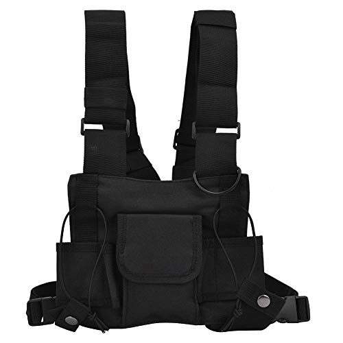 Alomejor Airsoft Vest Training Chalecos para Exteriores con Rayas Reflectantes para Airsoft Paintball Wargame Sport Outdoor