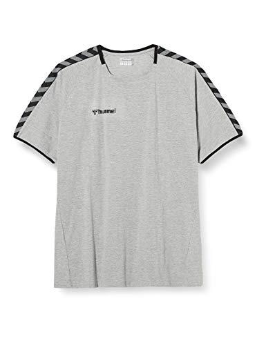 Hummel Herren hmlAUTHENTIC Training Tee T-Shirt, Grey Melange, XL