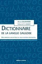 Dictionnaire de la langue gauloise : Une approche linguistique du vieux celtique continental (DIFFUSION ERRANCE)
