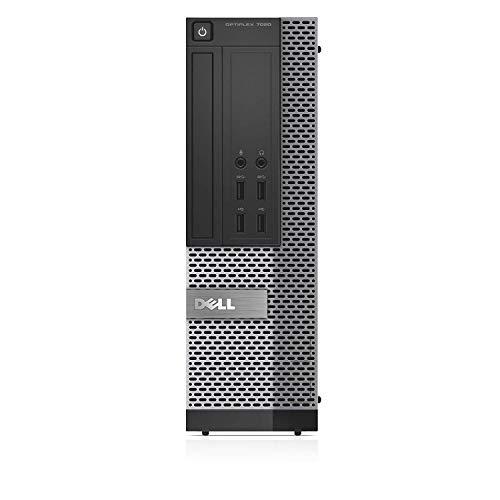 """Dell Optiplex 7020 Small Form Factor Refurbished Standard PC - Intel Core i5-4590 3.30GHz, 16GB RAM, SATA 2.5"""" 512GB SSD, DVD-ROM, Windows 10 Pro 64-Bit"""