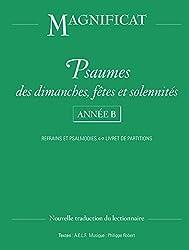 Psaumes dimanches, fêtes et solennités - Année B