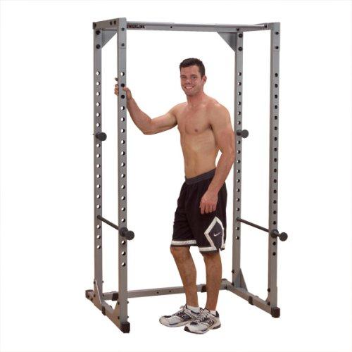BODY-SOLID PPR-200X Power-Rack Power-Cage mit Klimmzugstange