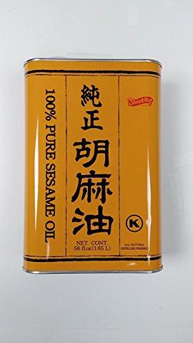 Shirakiku 100% Pure Sesame Oil, Japan, 56 Fl Ouce
