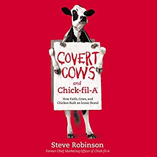 Covert Cows and Chick-fil-A audiobook cover art