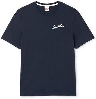 6ee4fcff18b6d Lacoste Men s Live Crew Neck Signature Jersey T-Shirt