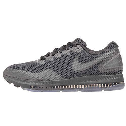 Nike W Zoom all out Low 2, Scarpe Running Donna, Nero (Black/Dark Grey-Anth 004), 36 EU