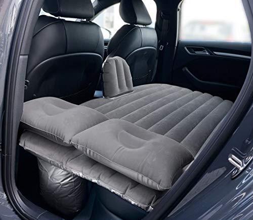 Auto luchtbed voor achterbank - met 12v elektische pomp 2-persoons luchtbed