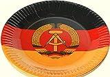 Pappteller DDR 10Pack mit Motiv - DDR Waren - DDR Traditionsprodukte - Ostalgie